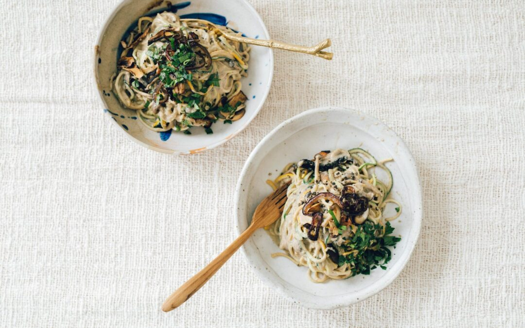 Emily's Recipe of the Month: Creamy Mushroom Pasta