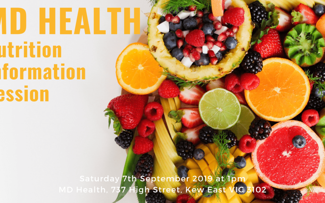 MD Health Nutrition Information Session: Why am I not losing weight?